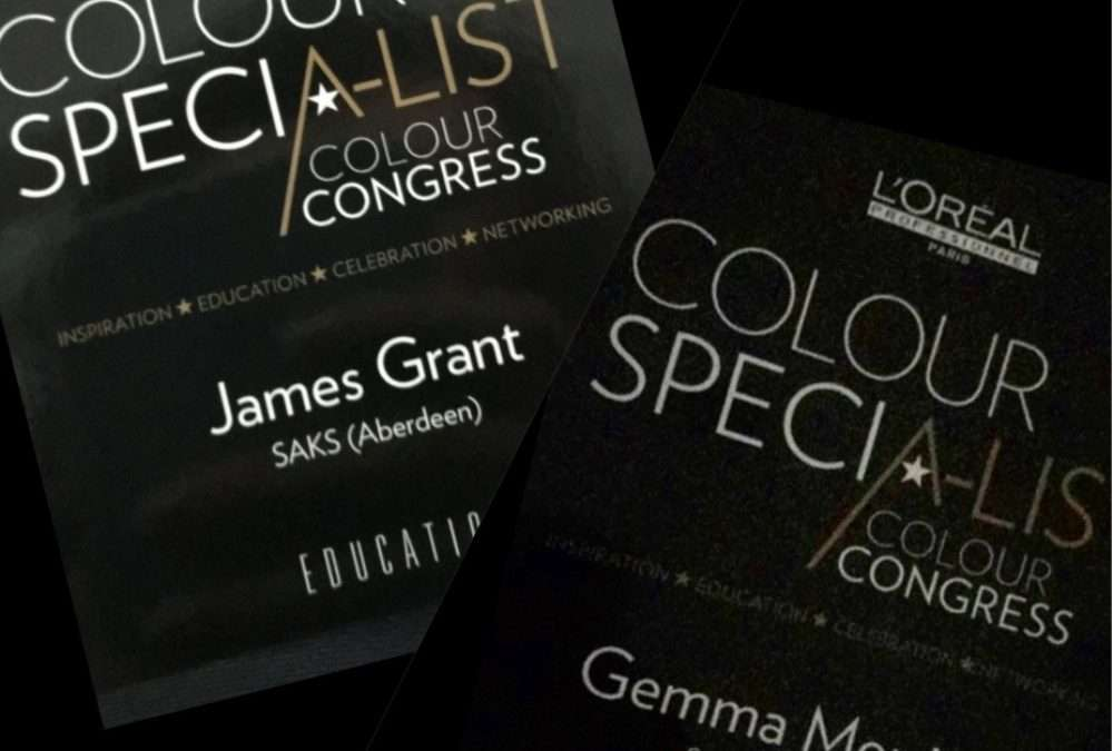 L'oreal Colour Specialist Congress 2017