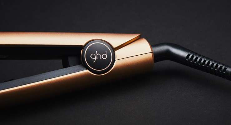 The new ghd EARTH GOLD styler…