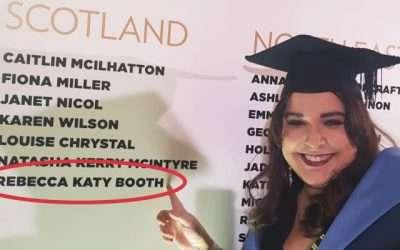 Rebecca's Graduation…